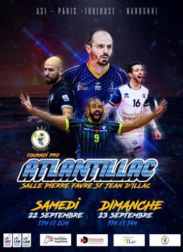 Affiche tournoi Atlantillac